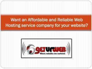 affordable web hosting Services