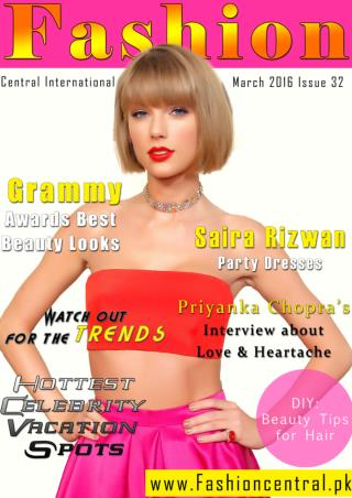Fashion Central International March Issue 2016
