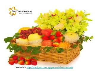 Fresh Fruit Gift Basket Delivered in Singapore