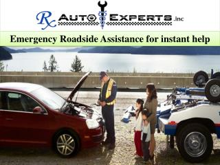 Emergency Roadside Assistance for instant help