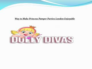 Pamper party dolly divas