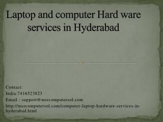 computer repair services in hyderabad Kukatpally at doorstep| computer repair services in hyderabad Miyapur at doorstep