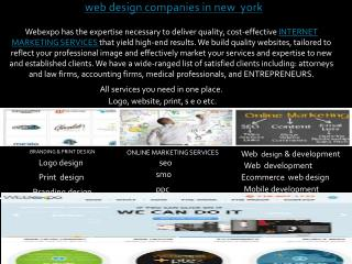 web design companies in new york