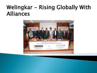 Welingkar - Rising Globally With Alliances