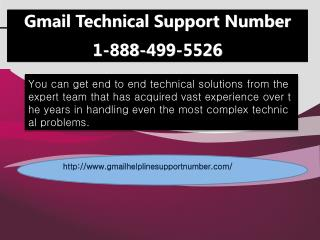 1-888-499-5526 Gmail customer support team to fix all Gmail related issues?