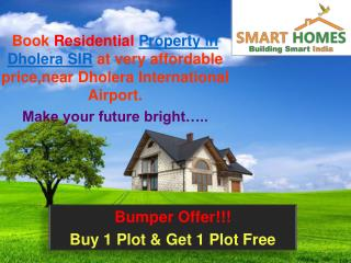 Buy Property in Dholera SIR