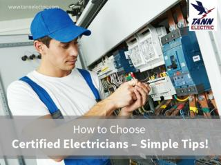 Tips to Hire Home Electrical Repair Technicians