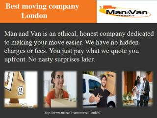Best Removal Company London