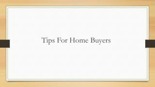 Tips for home buyers by mapsko group