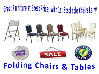Great Furniture at Great Prices with 1st Stackable Chairs Larry