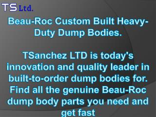 Beau-Roc Custom Built Heavy-Duty Dump Bodies