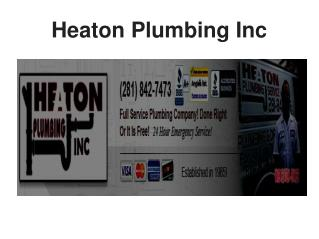 24 Hour Emergency Residential Plumber, Water heater Installation and repair Houston TX