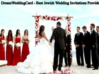 DreamWeddingCard - Best Jewish Wedding Invitations Provider