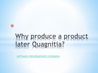 Quagnitia-iPhone, android, Software Development Company in India
