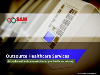 Outsource healthcare services providing company