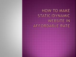 Web Design Delhi