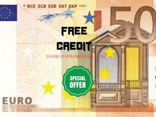 FREE CREDIT  IN 12h