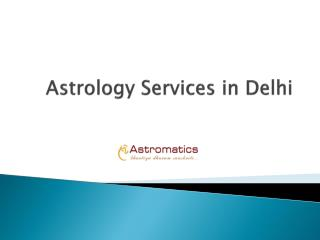 Astrology Services in Delhi
