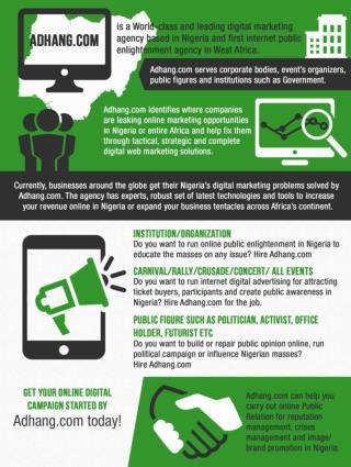 online digital marketing company Nigeria