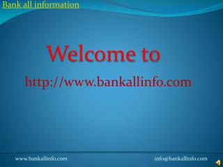 Bank All Info