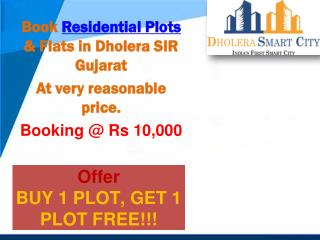 Buy Residential Plots in Dholera SIR
