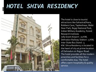 Hotel Shiva Residency