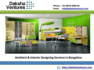 Architect & Interior Designing Services Bangalore,India