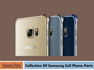 Collection of Samsung Cell Phone Parts