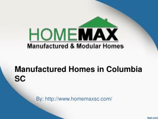 Manufactured Homes Columbia SC