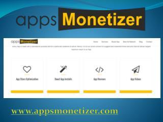 Incentivized app Installs-appsmonetizer.com