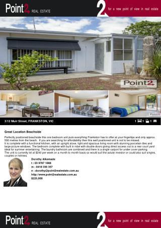 3-12 Muir Street House for Sale in Frankston, Australia
