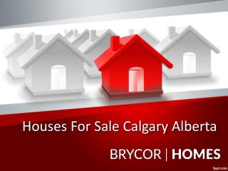 Houses For Sale Calgary Alberta