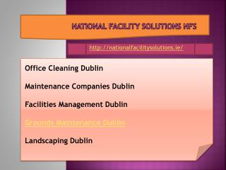 Maintenance companies dublin