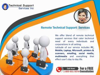 Online technical support services Inc @ 1-800-931-5079 for all Brands USA