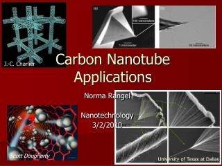Carbon Nanotube Applications