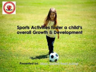 Sports activities benefits for your child