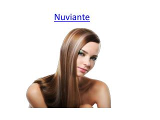 Have Strong and Thicker Hairs With Nuviante
