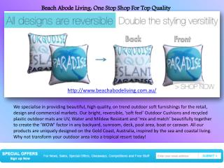 Buy Top Quality Outdoor Cushion In Gold Coast