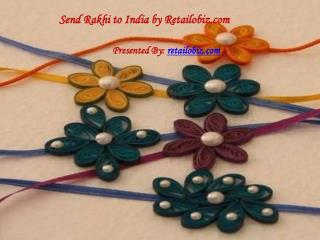 Send Rakhi to India free shipping is available in Retailobiz.com