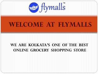 New Online Grocery Shopping Store in Kolkata at Flymalls