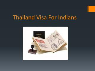 Thailand Visa on Arrival Procedure