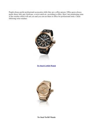 Check Out Some Affordable Trendy Watch Collection Here
