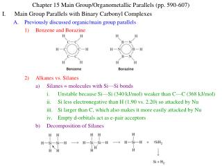 Chapter 15 Main Group