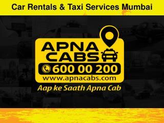 Car Rentals & Taxi Services Mumbai