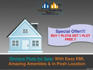 Dholera Plots for Sale: Buy 1 & Get 1 Free