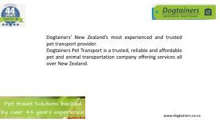 Pet import services