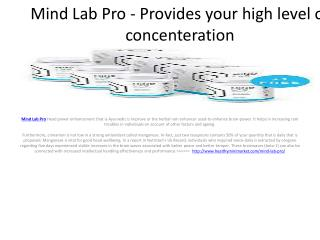 Mind Lab Pro - better your sleep quality