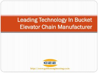 Leading Technology In Bucket Elevator Chain Manufacturer