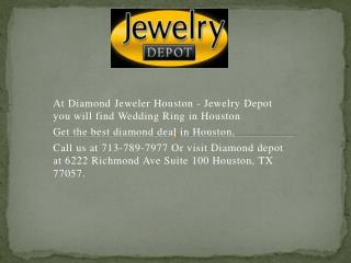 Find Wedding Rings In Houston At Diamond Jeweler Houston