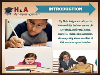 Case Study Assignment Help | MHA